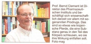 Prof. Dr. Bernd Clement
